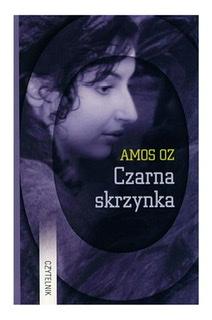 """Okładka powieści Amosa Oza """"Czarna skrzynka""""."""